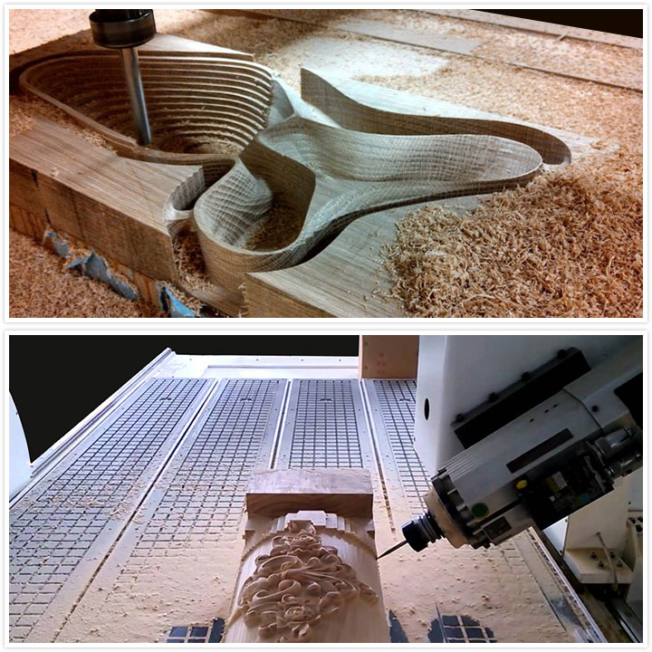 4 axis CNC Router applications
