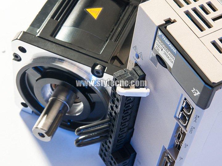 Yaskawa digital servo drivers and motors