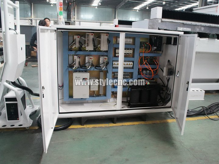 Eletric cabinet for 5 Axis CNC Router
