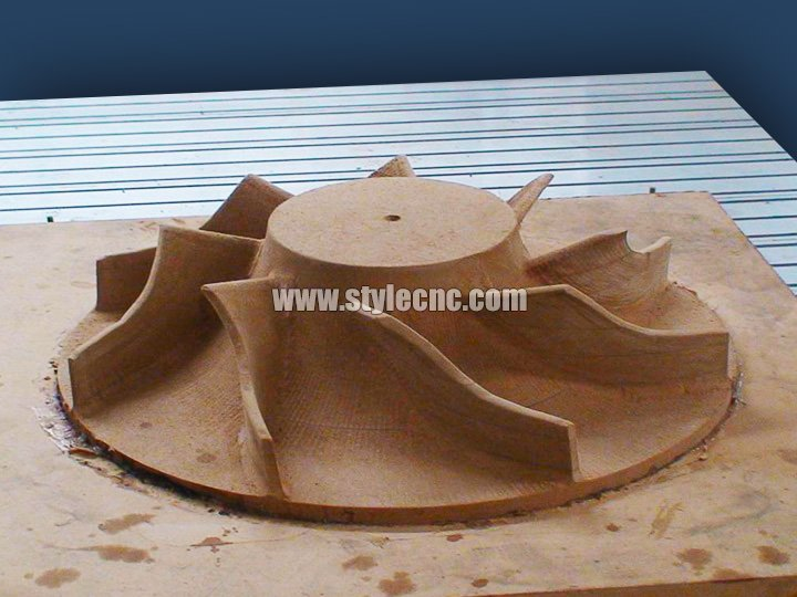 5 Axis CNC Router Application