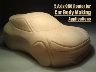 5 axis CNC router for car body making applications