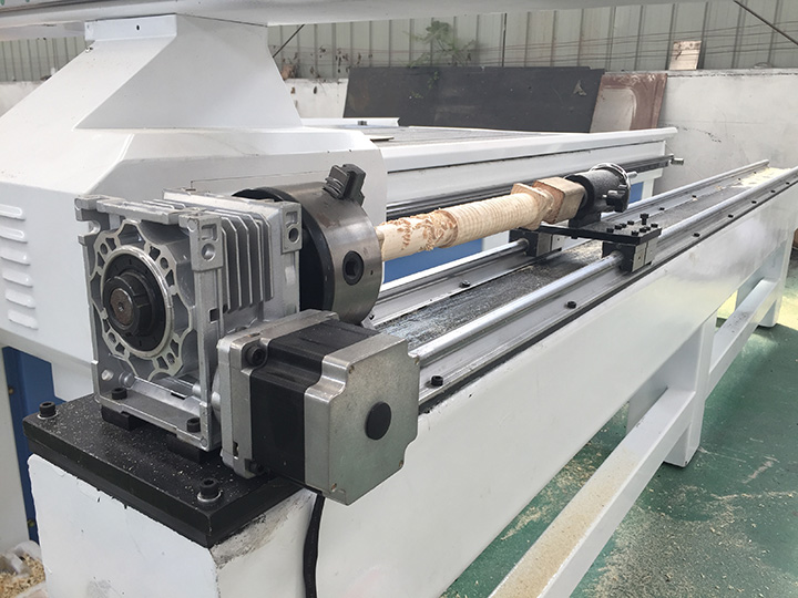 Rotary Device (CNC lathe router add on) for CNC Router Lathe Machine