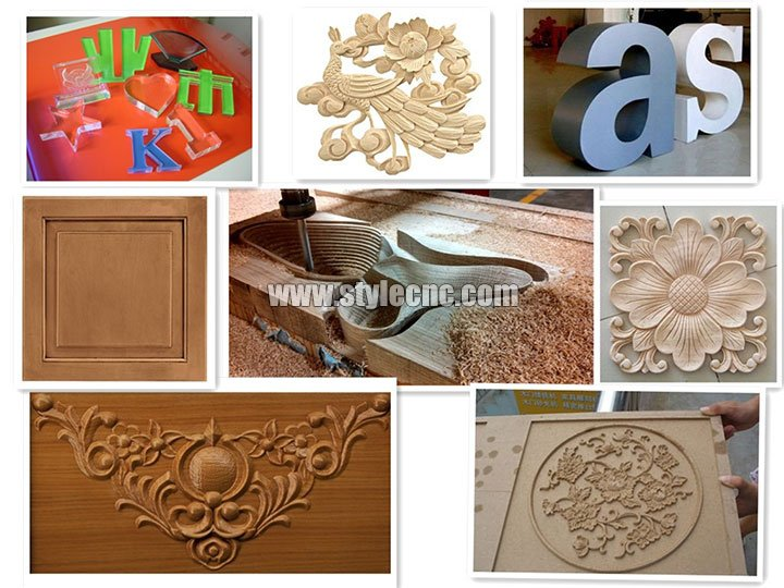 Projects of CNC woodworking machine