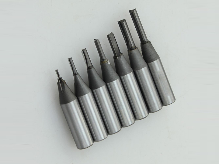 TCT Straight Flute CNC Bits for MDF and Wood Cutting