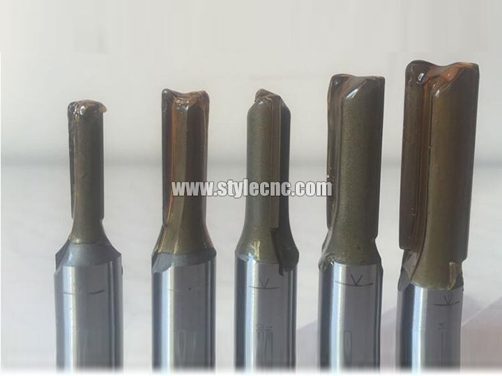 The Second Picture of TCT Straight Flute CNC Bits for MDF and Wood Cutting
