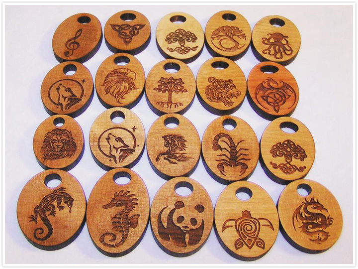 Wood laser engraving machine projects