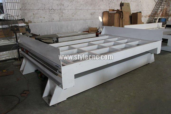 heavy machine body of Stone CNC Machine Center
