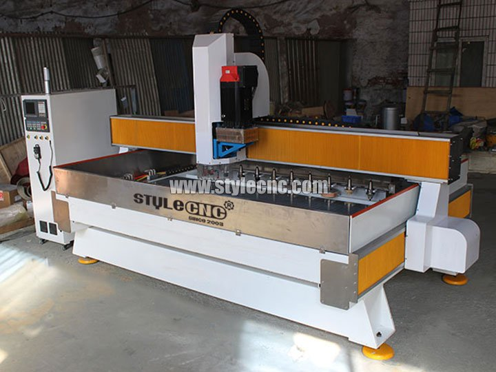 The Second Picture of Stone CNC Machining Center for Cutting and Polishing