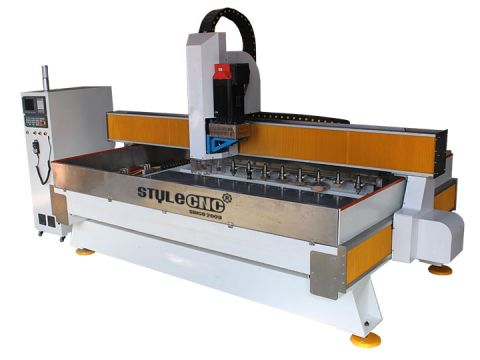 Stone CNC Machine Center for Cutting and Polishing