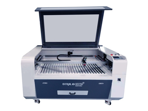 CCD camera laser cutter for fabric, leather, textile, garment