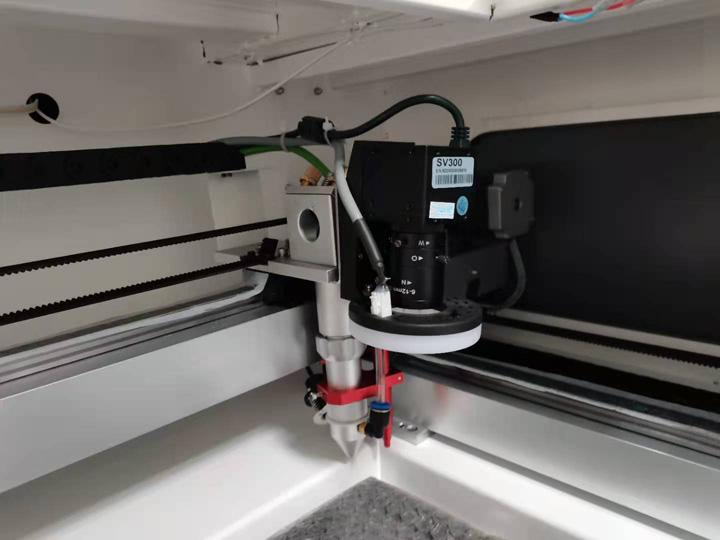 CCD camera laser cutter