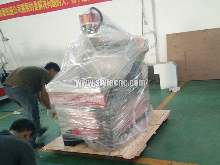 package of CNC Carving Machine for Stone, Marble, Granite