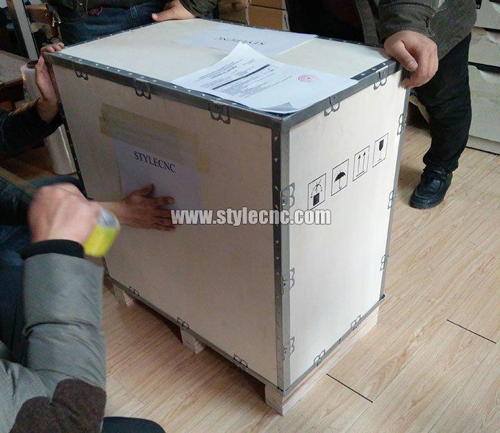 plywood package for 20W MOPA Fiber Laser Marker