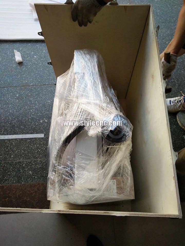 20W MOPA Fiber Laser Marker Deliveryed to USA