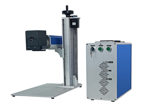 Intelligent mark positioning laser marking machine with cyclops system