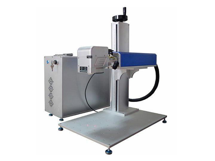 Intelligent mark positioning laser marking machine