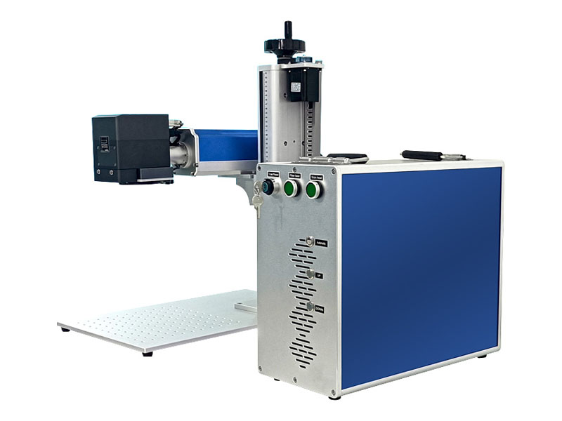 laser marking machine with cyclops system