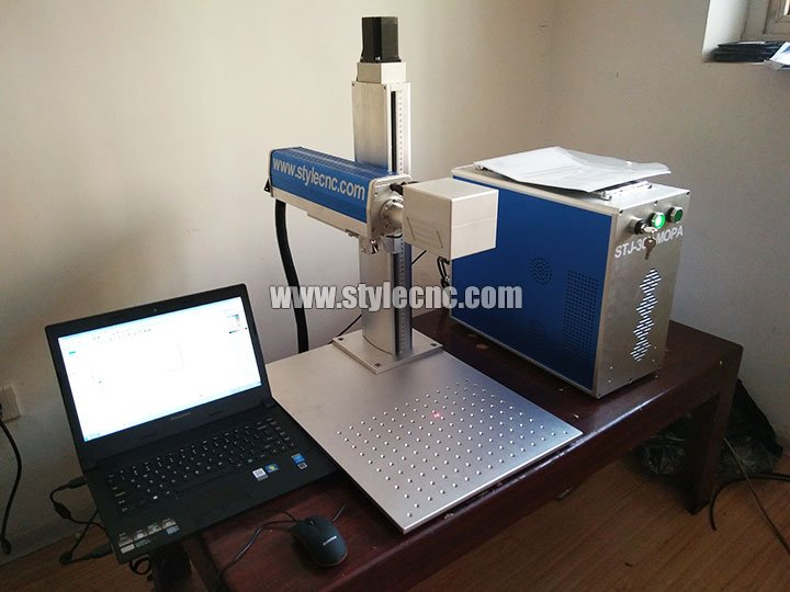 30W MOPA Fiber Laser Marker