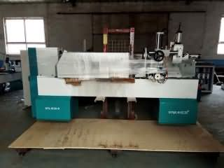 New CNC wood lathe delivery to Romania