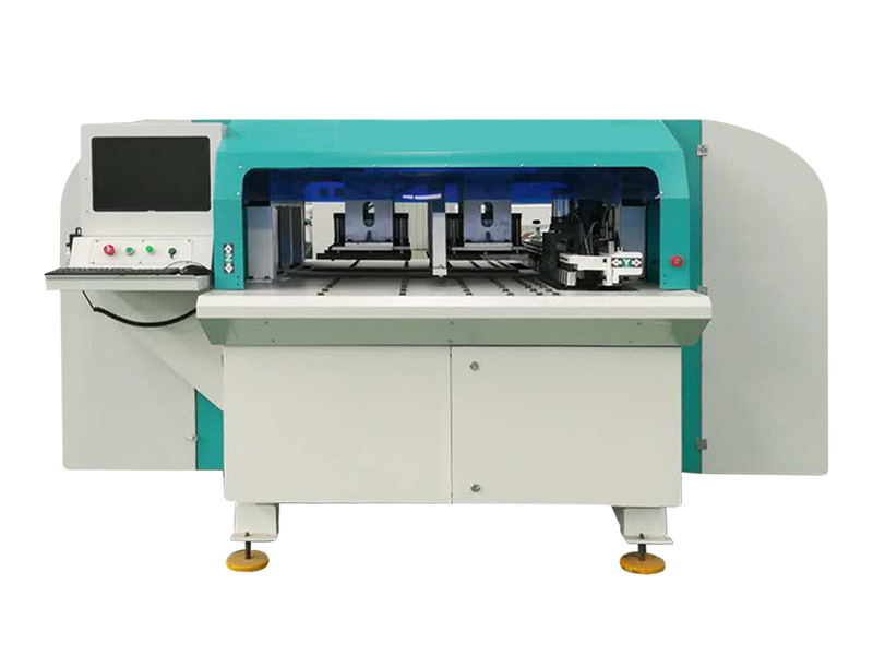 Automatic CNC Drilling and Grooving Machine