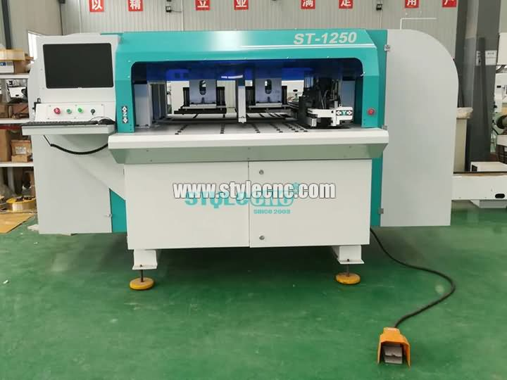 Automatic CNC drilling and grooving machine ST-1250