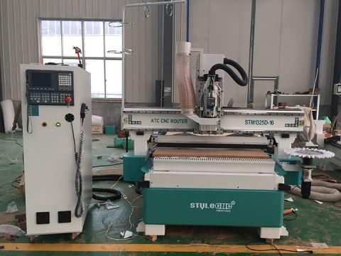 Disk automatic tool changer ATC CNC router is ready for delivery to United Arab Emirates