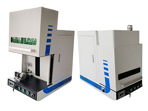 3d deep laser engraving machine with enclosed structure