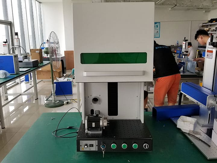 Deep 3D laser engraving machine