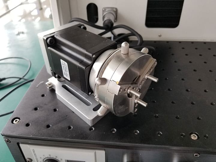 rotary ring laser marking system