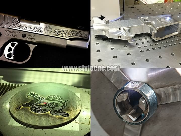 3D laser engraving projects