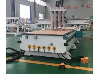 Furniture CNC router with 4 spindles delivery to Qatar