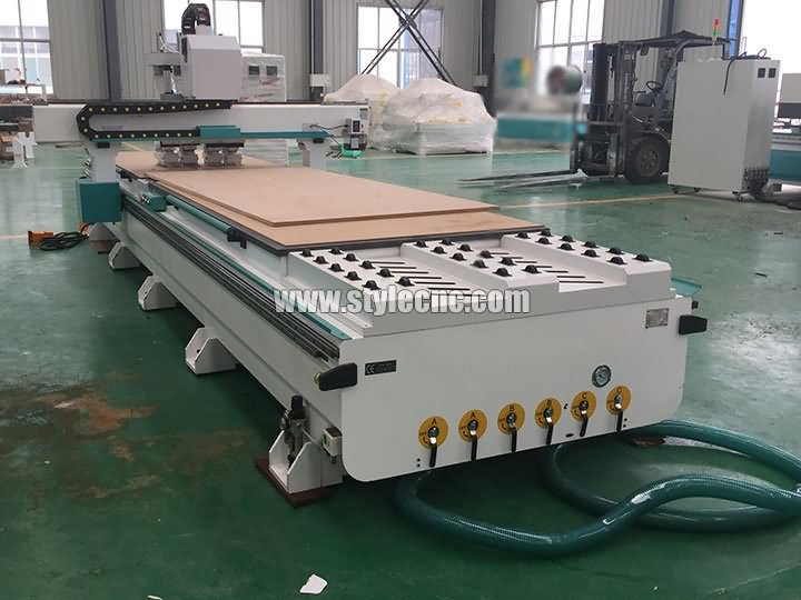 double table CNC router