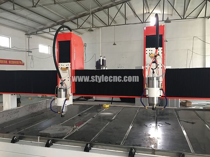 dual spindle CNC router