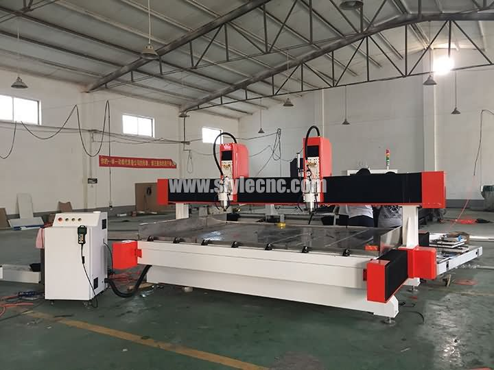 india CNC router with dual spindles