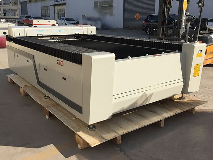 STJ1325 CNC laser cutting machine 150W delivery to Mexico