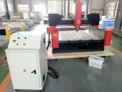 Small size stone CNC router STS1212 for Saudi Arabia customer