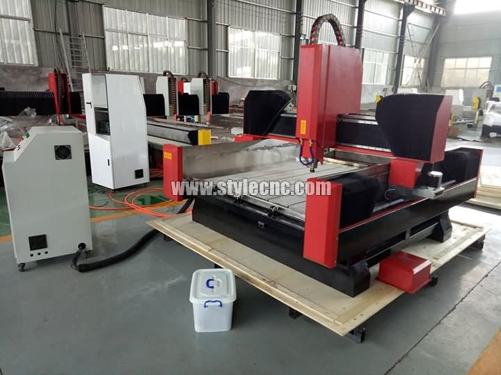 CNC router for marble