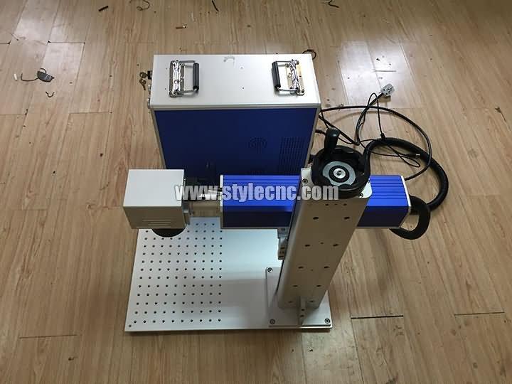MOPA fiber laser marking machine