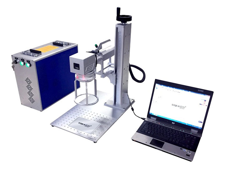 Q-switch fiber laser marking machine