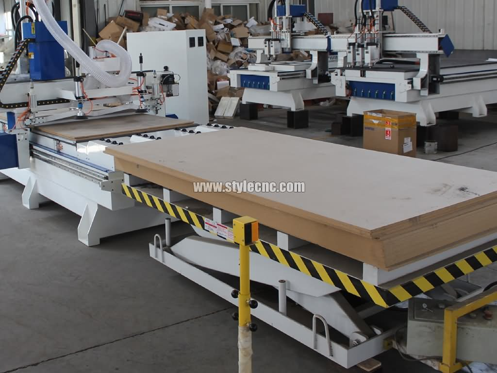 Full intelligent CNC router