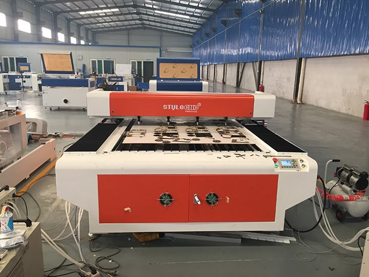 180W MDF laser cutter is ready for delivery to America