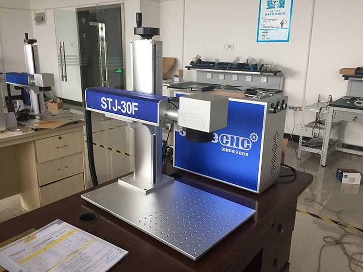 Bangladesh 30W fiber laser marking machine