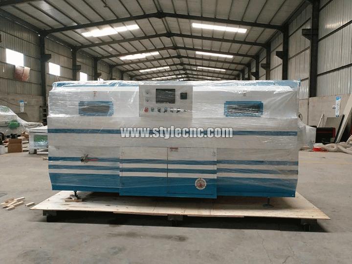 PVC vaccum membrane press machine