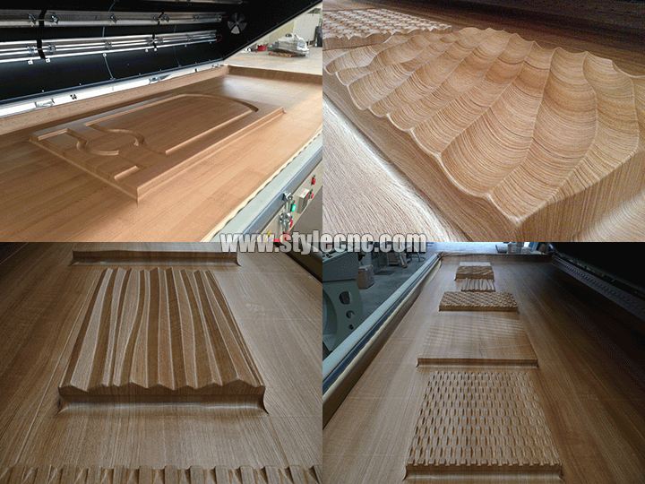 background wall by cnc router