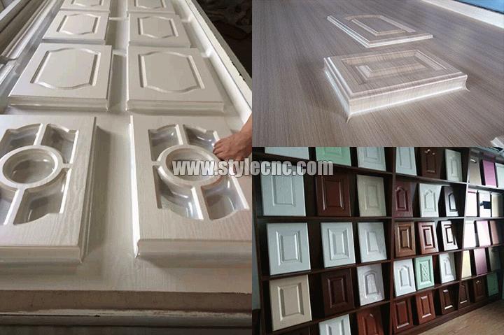 cabinet kitchen door PVC press