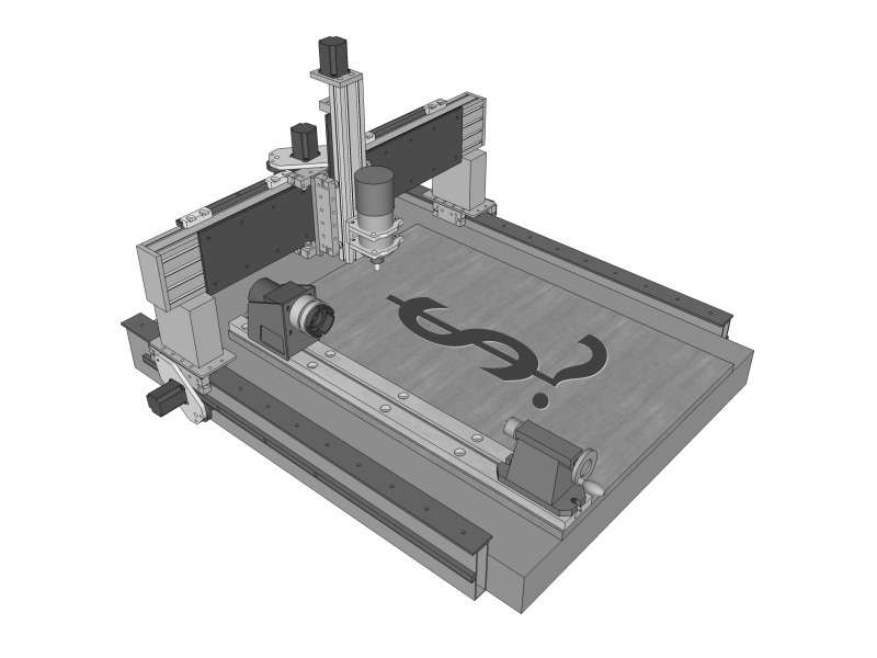 How much does a CNC router cost?