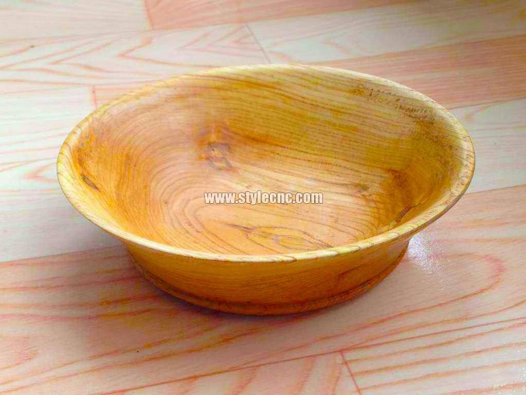 Wood bowl turning project