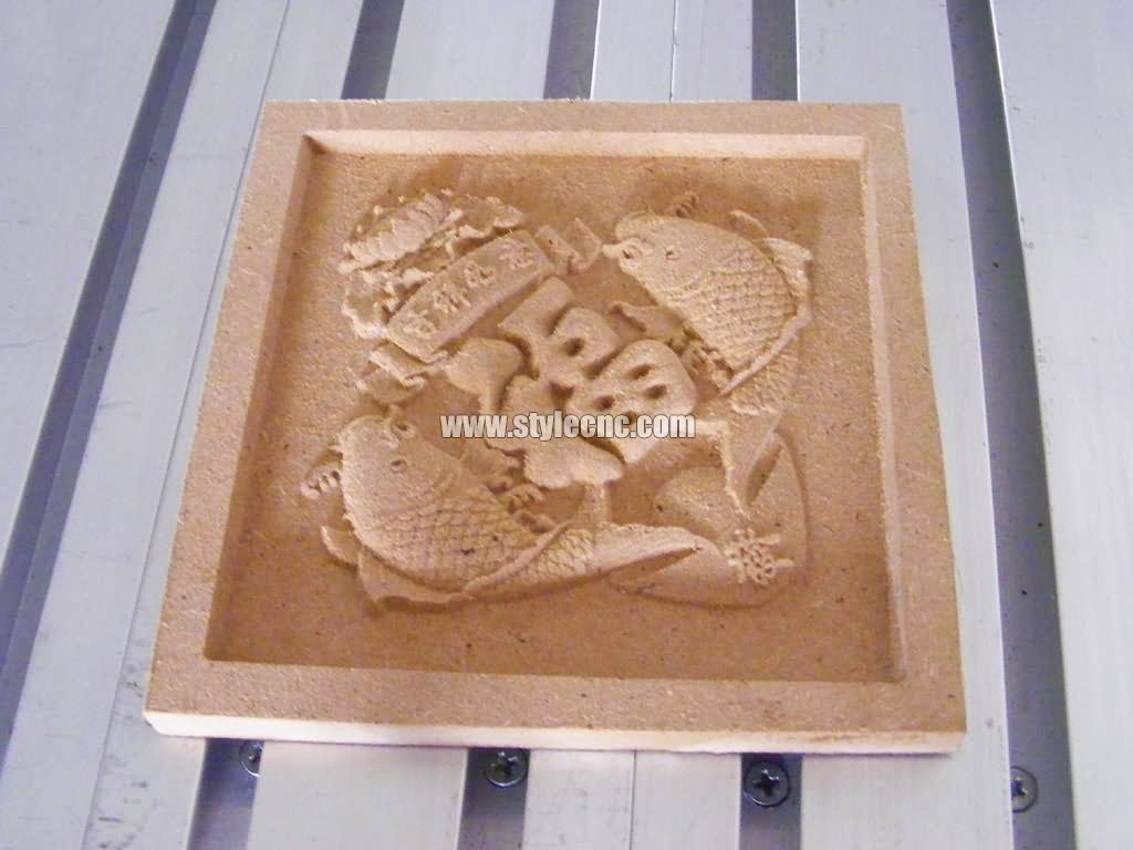 D cnc router for wood relief carving projects
