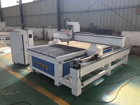 CNC router with 4 axis rotary is ready for delivery to Lebanon