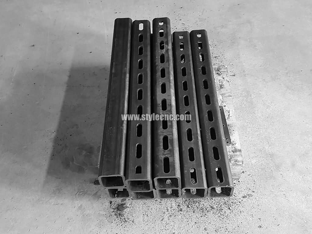 Plasma square tube cutting projects